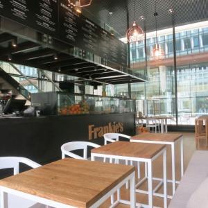 Wnętrze sokarni Frankie's w Warszawie