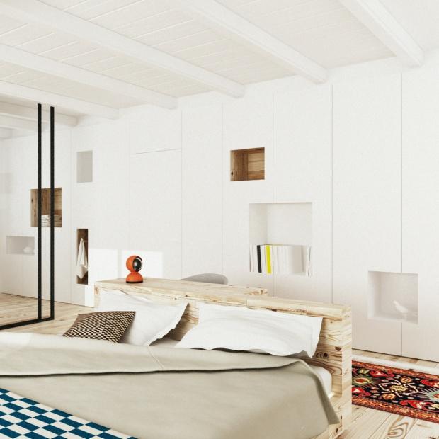 Projekt wnętrza w Krakowie w stylu minimalistycznym