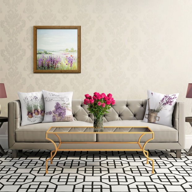 Dom w klimacie Prowansji - 10 pomysłów na dekoracje