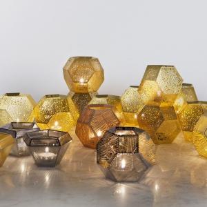 Kolekcja świeczników Etch i Cell, Tom Dixon dostępne na Westwing.pl