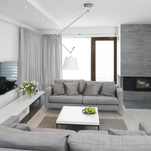 Modny pokój dzienny: 20 pięknych wnętrz