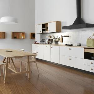 Meble do kuchni - piękny projekt w stylu skandynawskim
