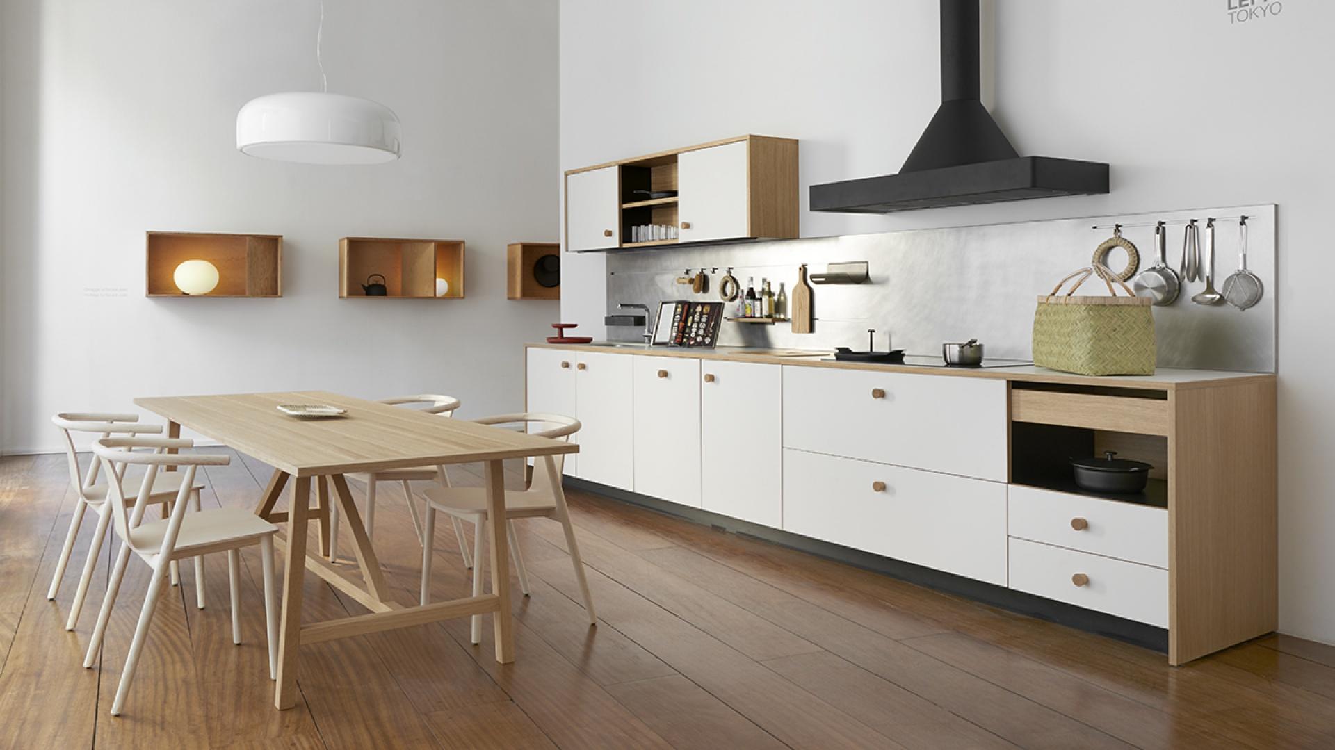 Kuchnia Schiffini Lepic, projekt: Jasper Morrison. Fot. Schiffini