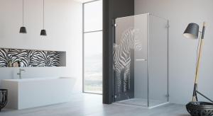 Dzięki nowej usłudze grawerowania szkła, nawet kabina prysznicowa może być unikalna.