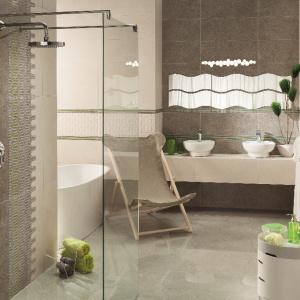 Nowość do łazienki: płytki ceramiczne z kroplą zieleni