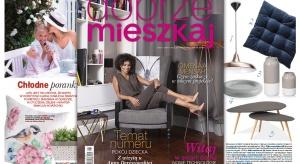 Właśnie ukazał się najnowszy numer magazynu Dobrze Mieszkaj. Gwiazdą tego wydania jest Omenaa Mensah!