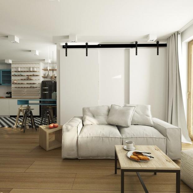 Piękne wnętrze mieszkania w Warszawie