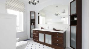 Chociaż współczesne trendy aranżacyjno-wnętrzarskie faworyzują minimalizm, geometrię i oszczędne formy, łazienka w stylu klasycznym ma wierne grono wielbicieli.