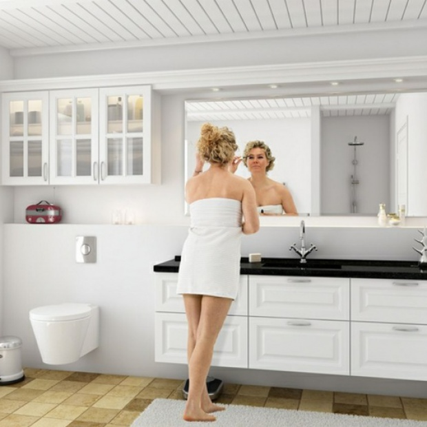 Skandynawski design w łazience