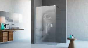 Kabiny walk-in świetnie wpisują się w minimalistyczną, nowoczesną aranżację łazienki. Ich konstrukcja to bowiem brak ruchomych elementów, a jedynie trzy, dwie, a nawet jedna szklana ścianka.