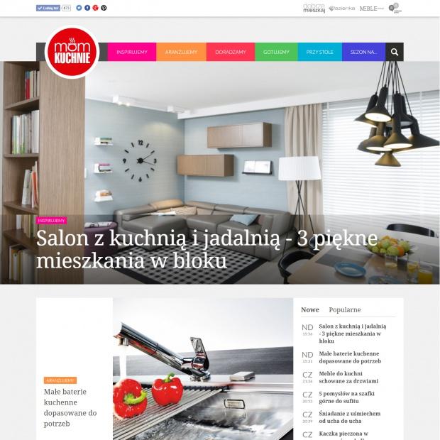 """Portal """"Mamkuchnie.pl"""" w nowej odsłonie. Zobacz!"""