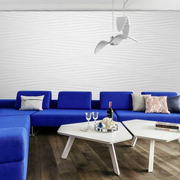 Apartament w Sea Tower w Gdyni w stylu skandynawskim