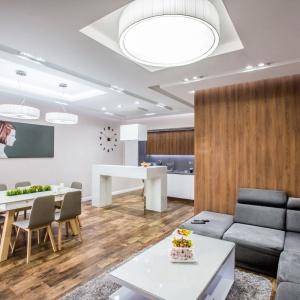 Projekt wnętrza: Studio Puhalska Design: www.puhalskadesign.pl. Fot. Dekorian.