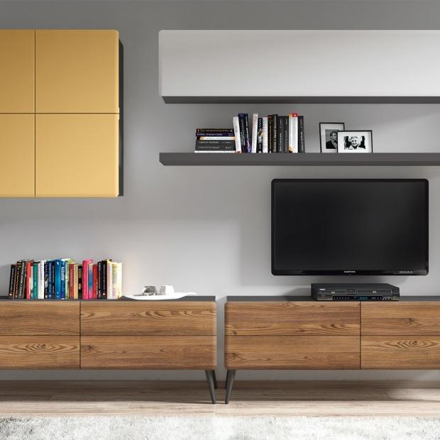 Postaw na odważny design, czyli z czym łączyć drewniane meble