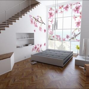 Fototapeta w sypialni. Fot. Pixers
