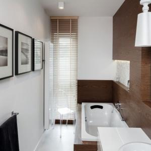 Łazienka w naturalnych materiałach
