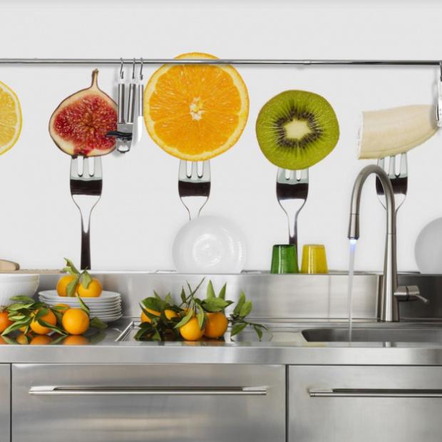 5 pomysłów na fototapetę do kuchni
