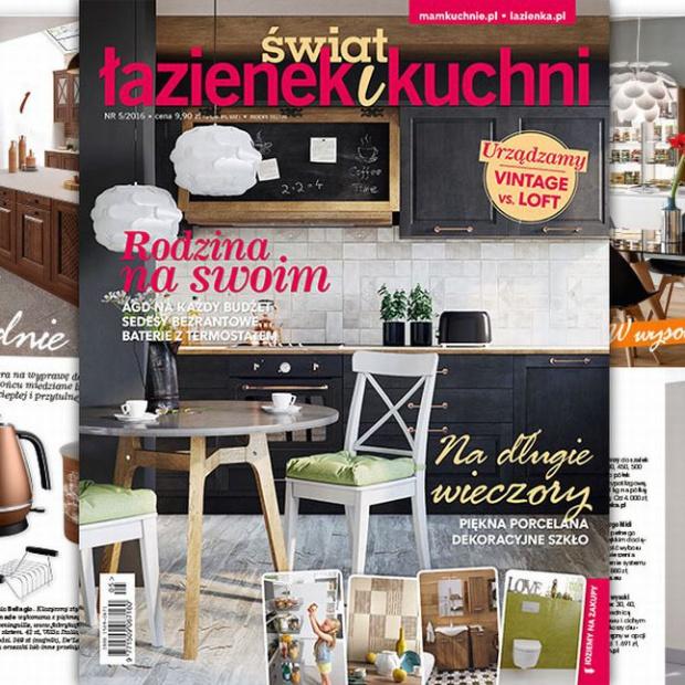 Magazyn Świat Łazienek i Kuchni: nowy numer już w sklepach