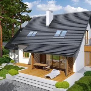Projekt domu Marisa III G1. Fot. Pracownia Projektowa Archipelag