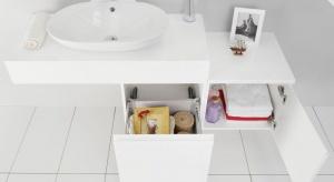 Podstawową funkcją mebli łazienkowych jest przechowywanie. Do niej - niczym puzzle - można dodawać takie funkcje jak porządkowanie czy segregowanie.