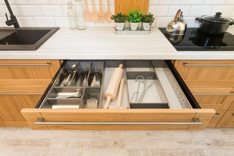 Przechowywanie w kuchni. Fot. Studio Kamela Max Kuchnie