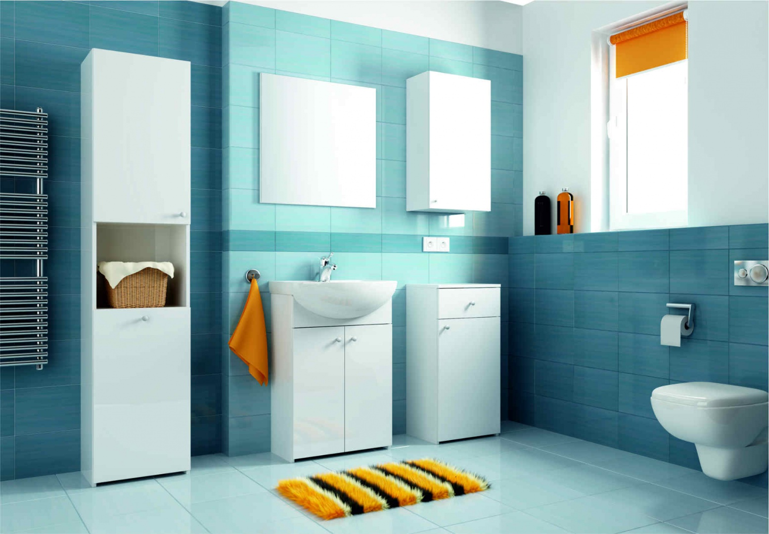 Szafka umywalkowa stojąca. Fot. Aquaform