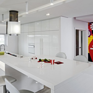 Zobacz gotowy projekt białej kuchni