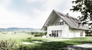 Zaprojektowany przez arch. Roberta Koniecznego Dom Optymalny to idea budownictwa zrównoważonego przeniesiona do domu jednorodzinnego.