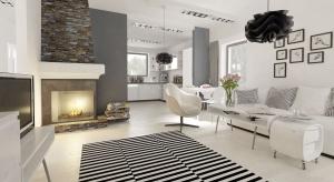 Urządzenie nowoczesnego wnętrza w ponadczasowych barwach wcale nie jest proste. Prezentujemy inspirujący pomysł na urządzenie domu o powierzchni blisko 150 m2.