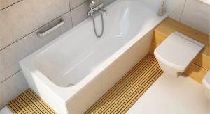 Główną zaletą wykończenia akrylowego są jego antypoślizgowe właściwości. W związku z tym, wanny z takiego tworzywa, są rekomendowane jako najbezpieczniejsze do łazienek, z których korzystają dzieci, osoby starsze lub mające problem z porus