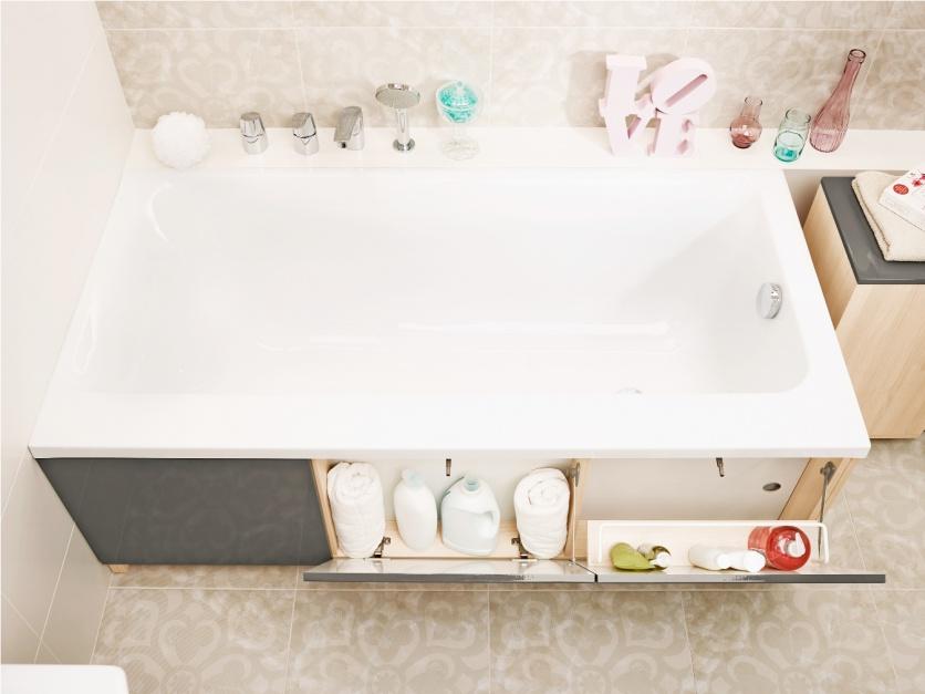 Przechowywanie w łazience. Fot. Cersanit