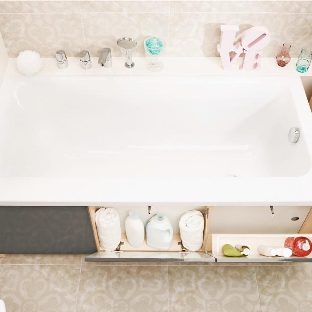 Przechowywanie w łazience - praktyczne meble