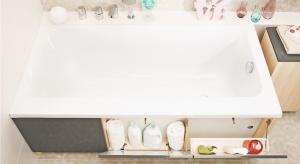 To nieprawda, że masz za dużo kosmetyków. Jeśli w Twojej łazience drobiazgi zaburzają porządek, to po prostu brakuje w niej schowków.