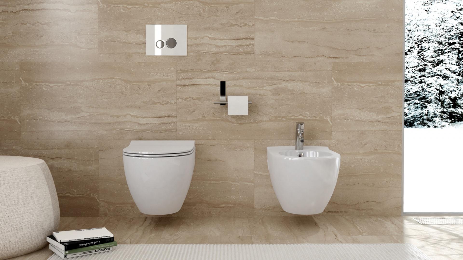 Ceramika sanitarna Urban Harmony Clean On. Fot.  Opoczno