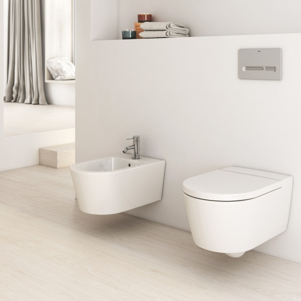 Wyposażenie łazienki – innowacyjna technologia do strefy sanitarnej