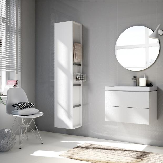 Łazienka w miejskim stylu - zobacz nową kolekcję mebli i ceramiki