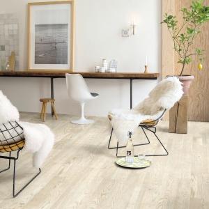 Qucik-Stpe Styl Skandynawski podłoga drewniana VARIANO. Fot. Quick-Step