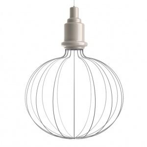 Nazwa wyprodukowanej w Toskanii kolekcji lamp Edison, to ukłon w stronę wynalazcy żarówki. Archetypiczny kształt został poddany twórczej interpretacji, aby stworzyć współczesny projekt. Fot. Marioni