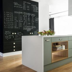 Ściana tablicowa w kuchni. Fot. Studio Vigo - Max Kuchnie