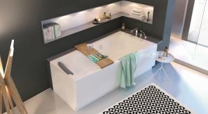 Jak zaaranżować najmniejszą przestrzeń w mieszkaniu, zwykle nie większą niż 10 m kw., by dobrze odgrywała rolę domowego SPA? Kluczem do osiągnięcia celu jest wanna - najważniejszy punkt w łazience!