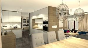 Zobacz projektwnętrza jadalni w klasycznym stylu w domu pod Bydgoszczą.