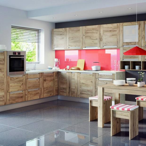 Meble kuchenne - modne zabudowy z uchwytami