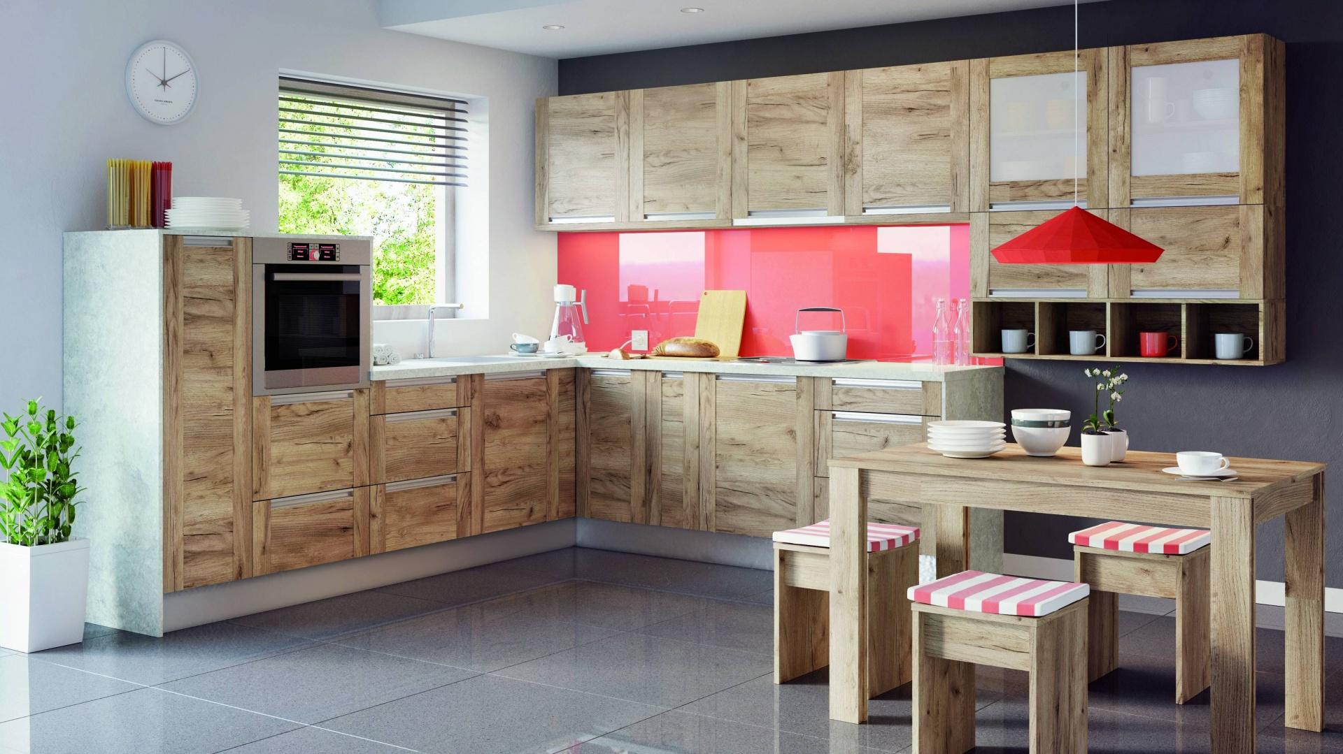 uchwyty aluminiowe meble kuchenne modne zabudowy z