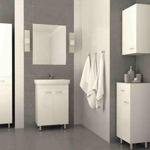 Funkcjonalna łazienka: nowa kolekcja mebli