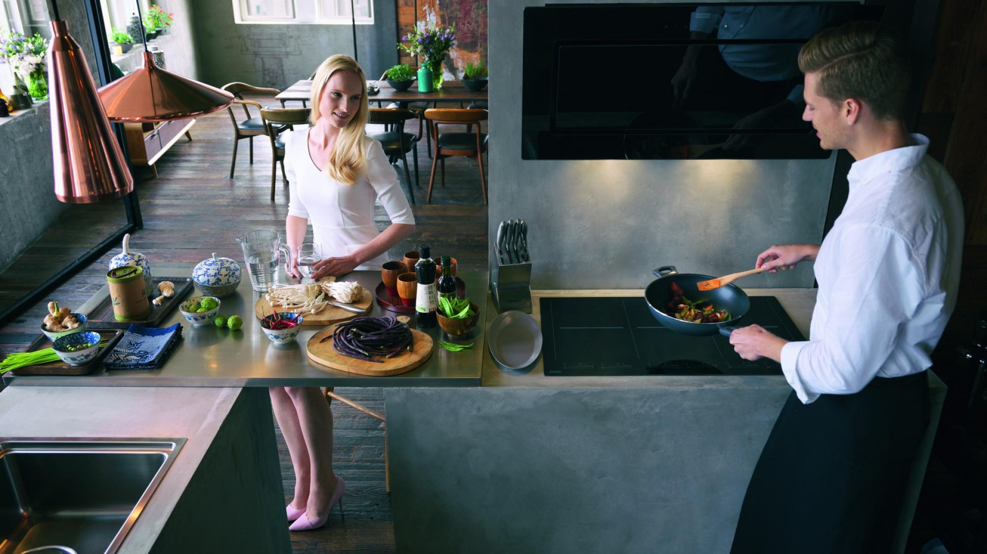 Nowa kolekcja Franke Mythos. Spotkajmy się w kuchni. Fot. Franke