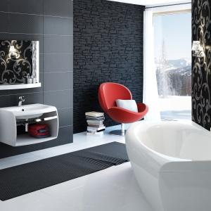 Przechowywanie w łazience: meble Evolution. Fot. Ravak