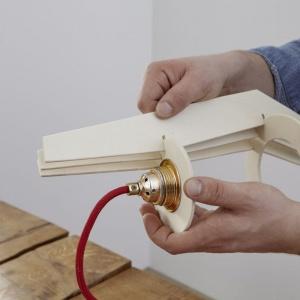 Stylowa lampa - krok 6. Fot. Bosch