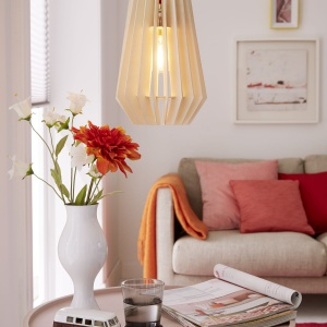 Stylowa lampa - efekt końcowy. Fot. Bosch