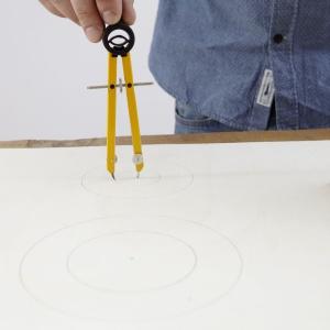 Stylowa lapmpa - krok 1. Fot. Bosch
