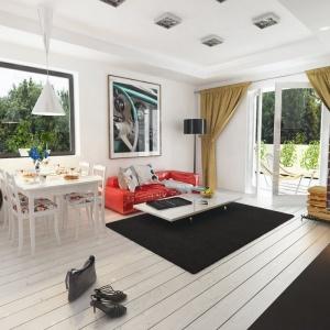 Mały dom. Zobacz piękne wnętrze w stylu retro